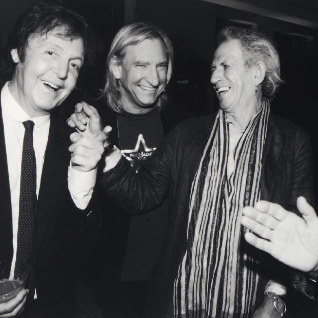 Paul McCartney, Joe Walsh, Keith Richards & Ringo Starr - 2