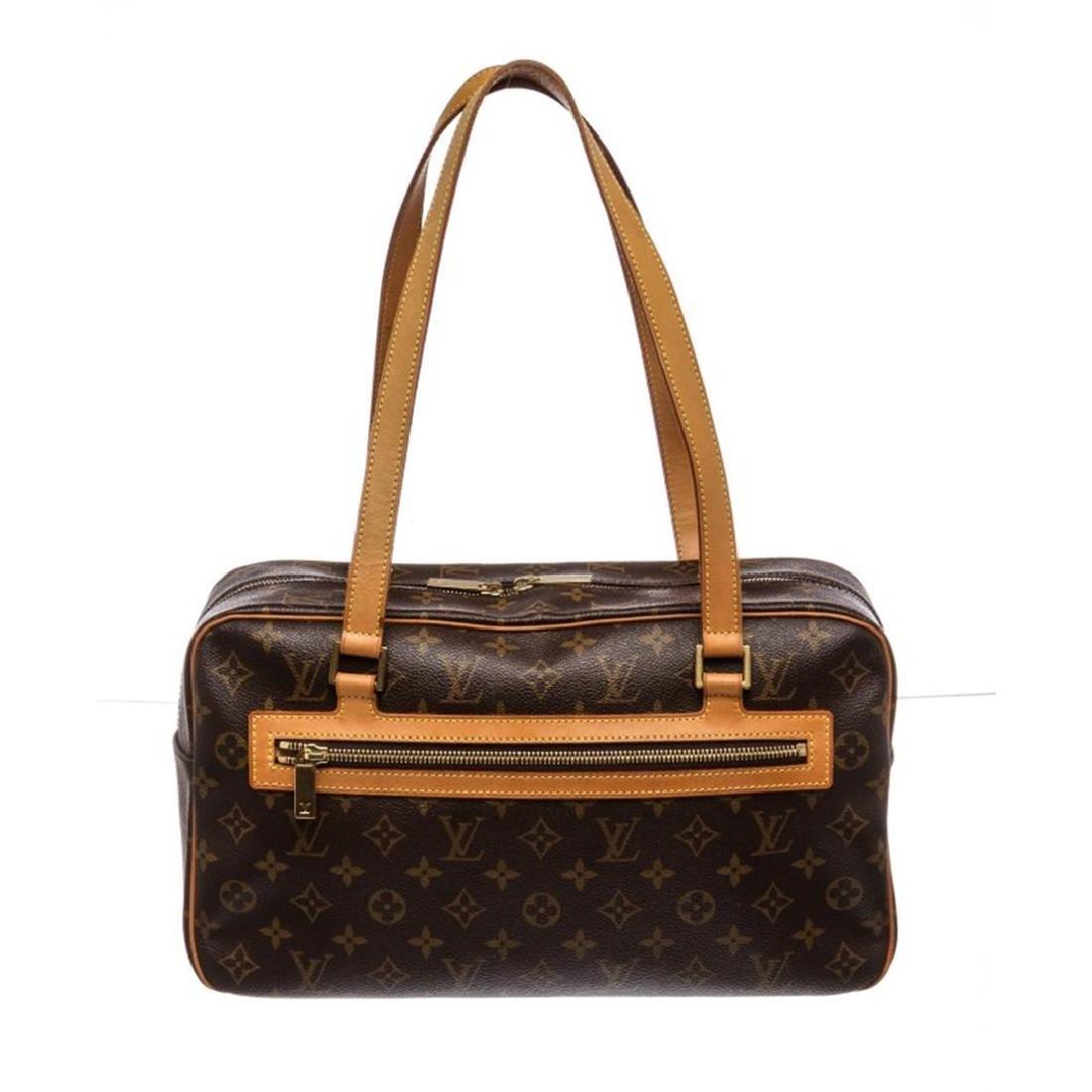 Louis Vuitton Monogram Canvas Leather Cite GM Shoulder