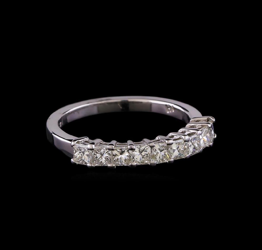 14KT White Gold Anniversary Diamond Ring
