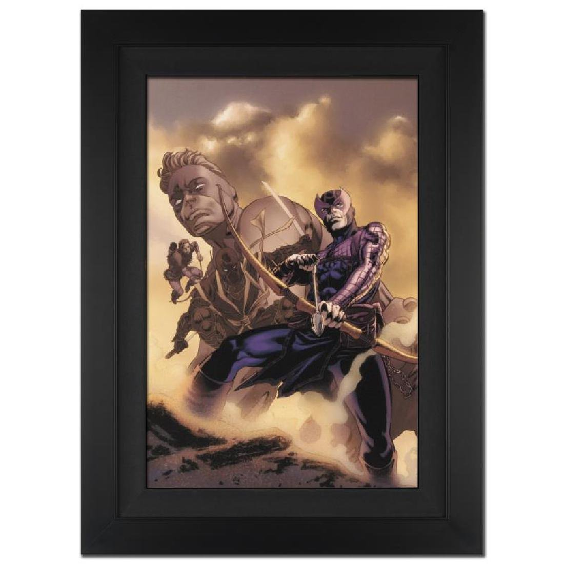 Hawkeye: Blindside #4 by Stan Lee - Marvel Comics