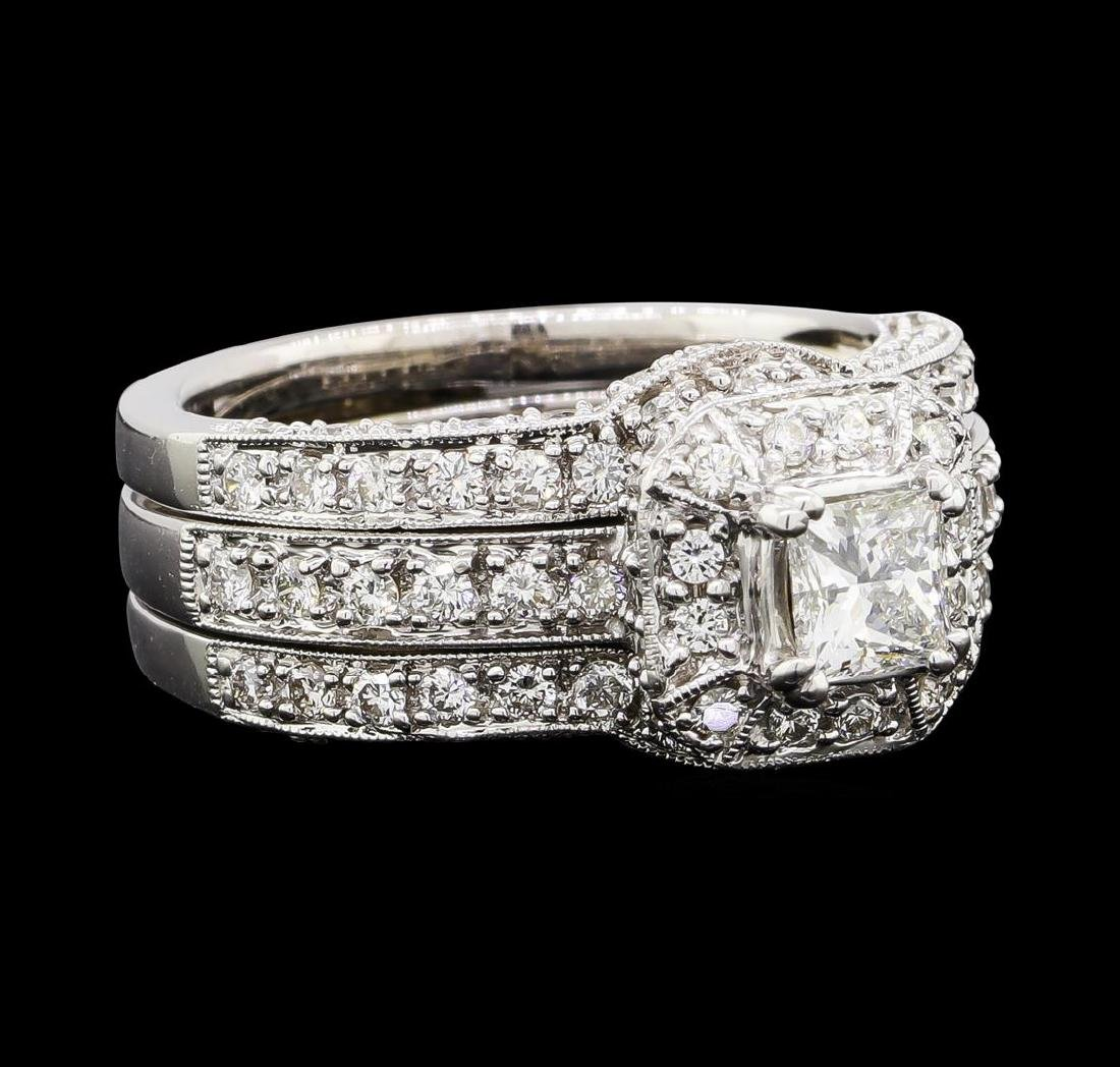 1.53 ctw Diamond Ring - 18KT White Gold