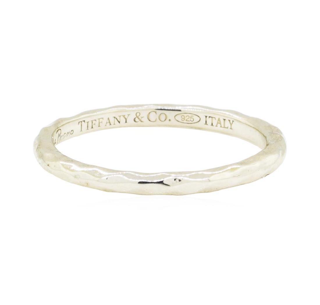 "Tiffany and Company ""Paloma Picasso"" Hammered Band -"