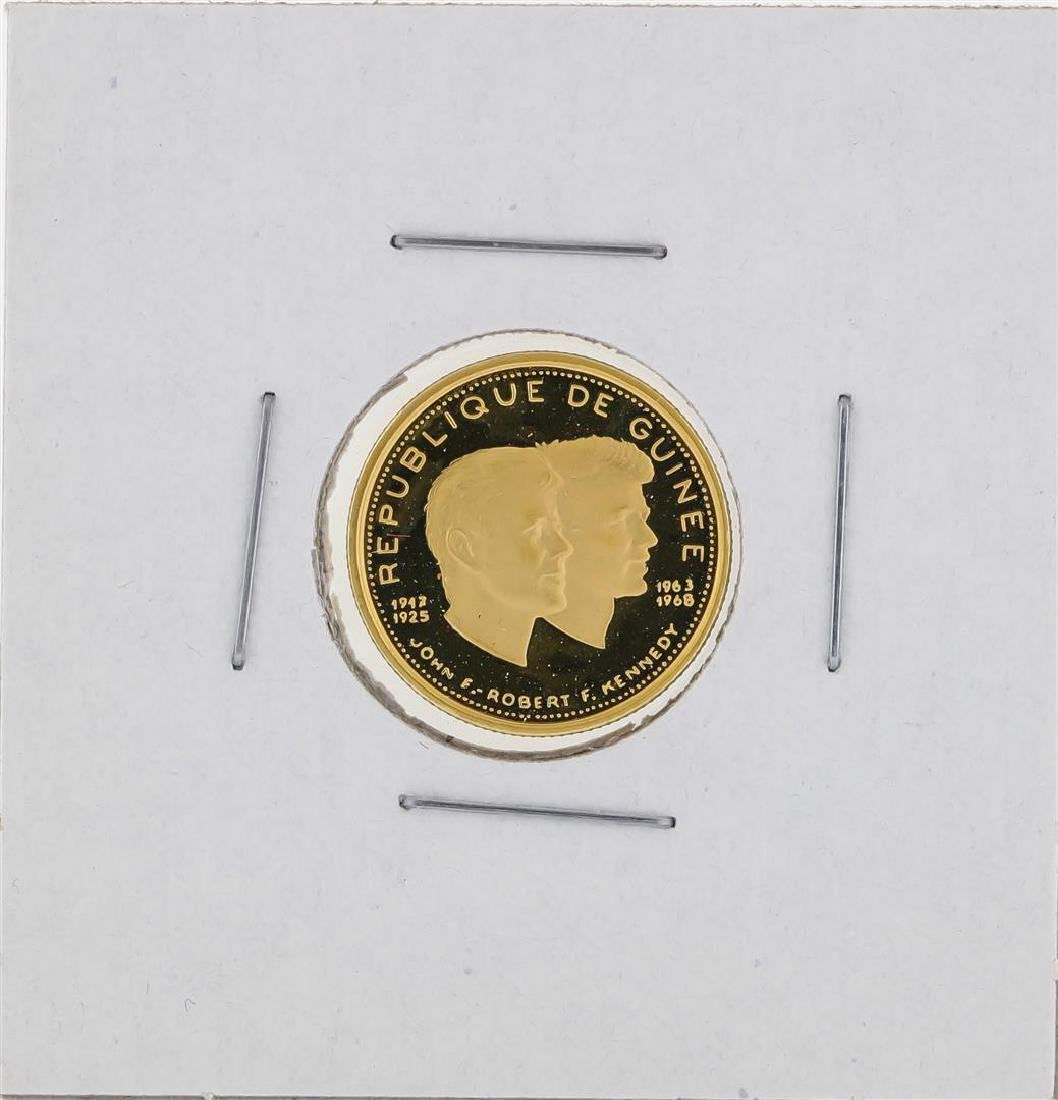1958 - 1968 Guinea 1000 Francs Gold Coin