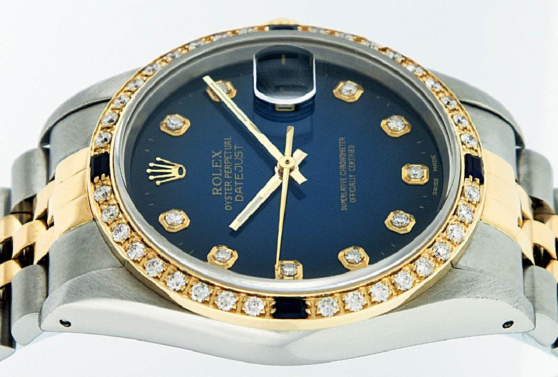 Rolex Two-Tone Diamond Blue Vignette and Sapphire - 2