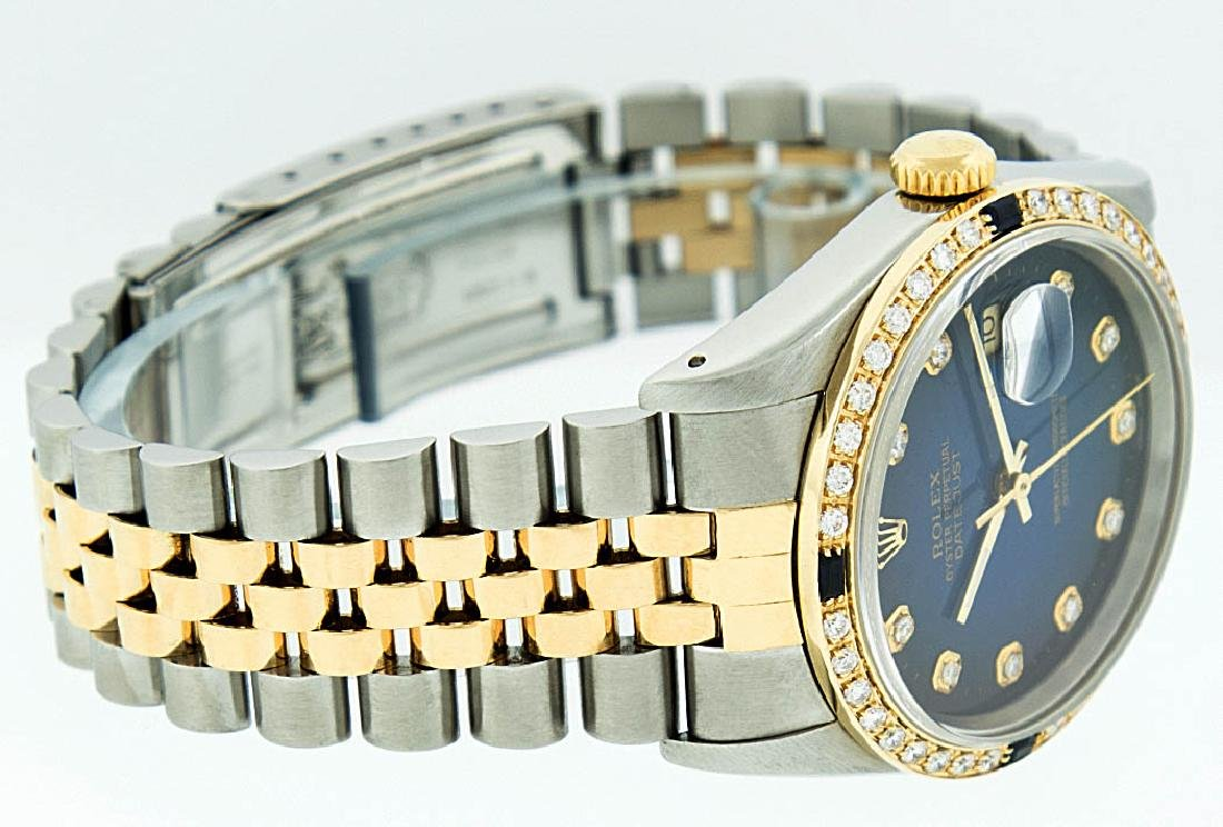 Rolex Two-Tone Diamond Blue Vignette and Sapphire - 4