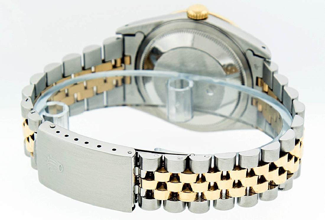 Rolex Two-Tone Diamond Blue Vignette and Sapphire - 6