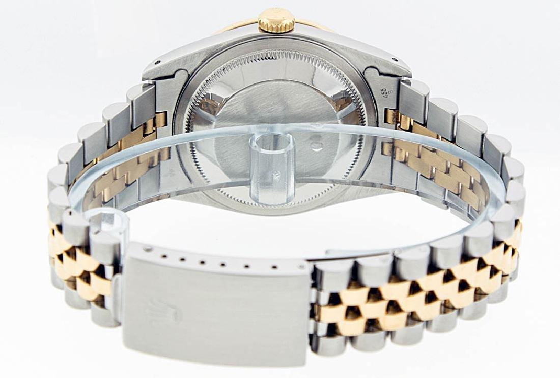 Rolex Two-Tone Diamond Blue Vignette and Sapphire - 9