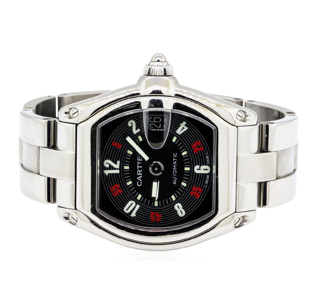 Cartier Stainless Steel Men's Roadster Automatic