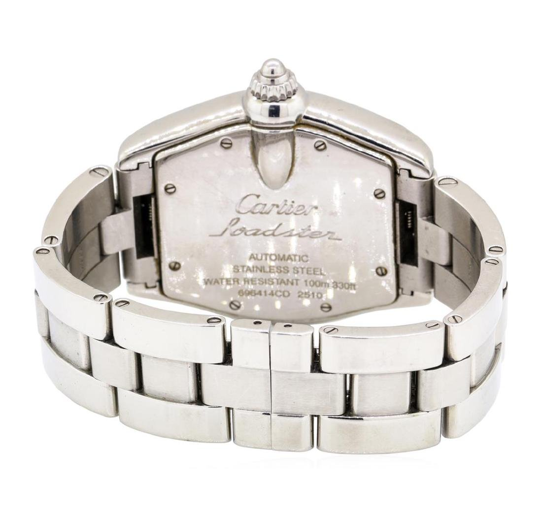 Cartier Stainless Steel Men's Roadster Automatic - 2