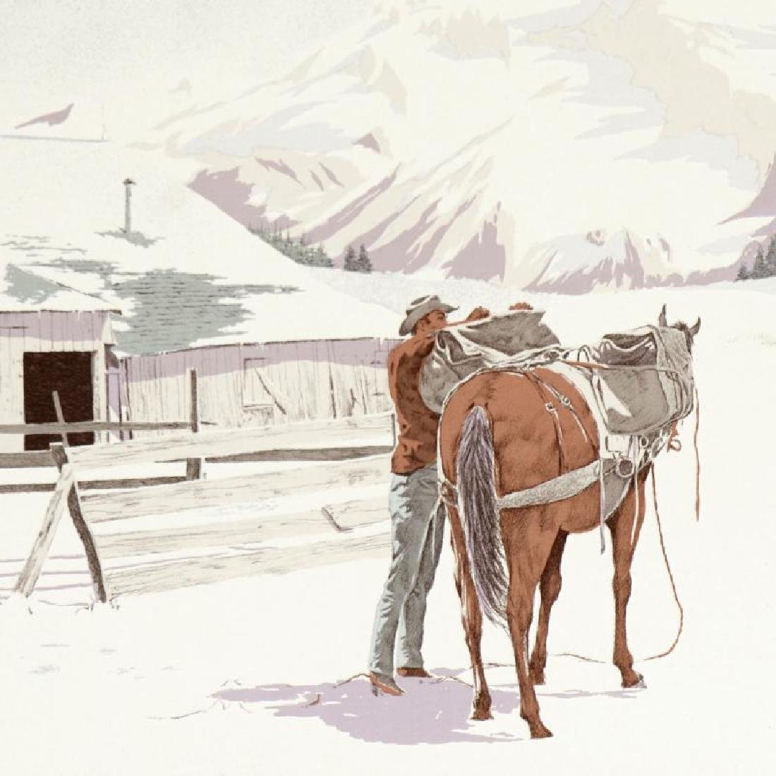 Saddling Up by Nelson, William - 2