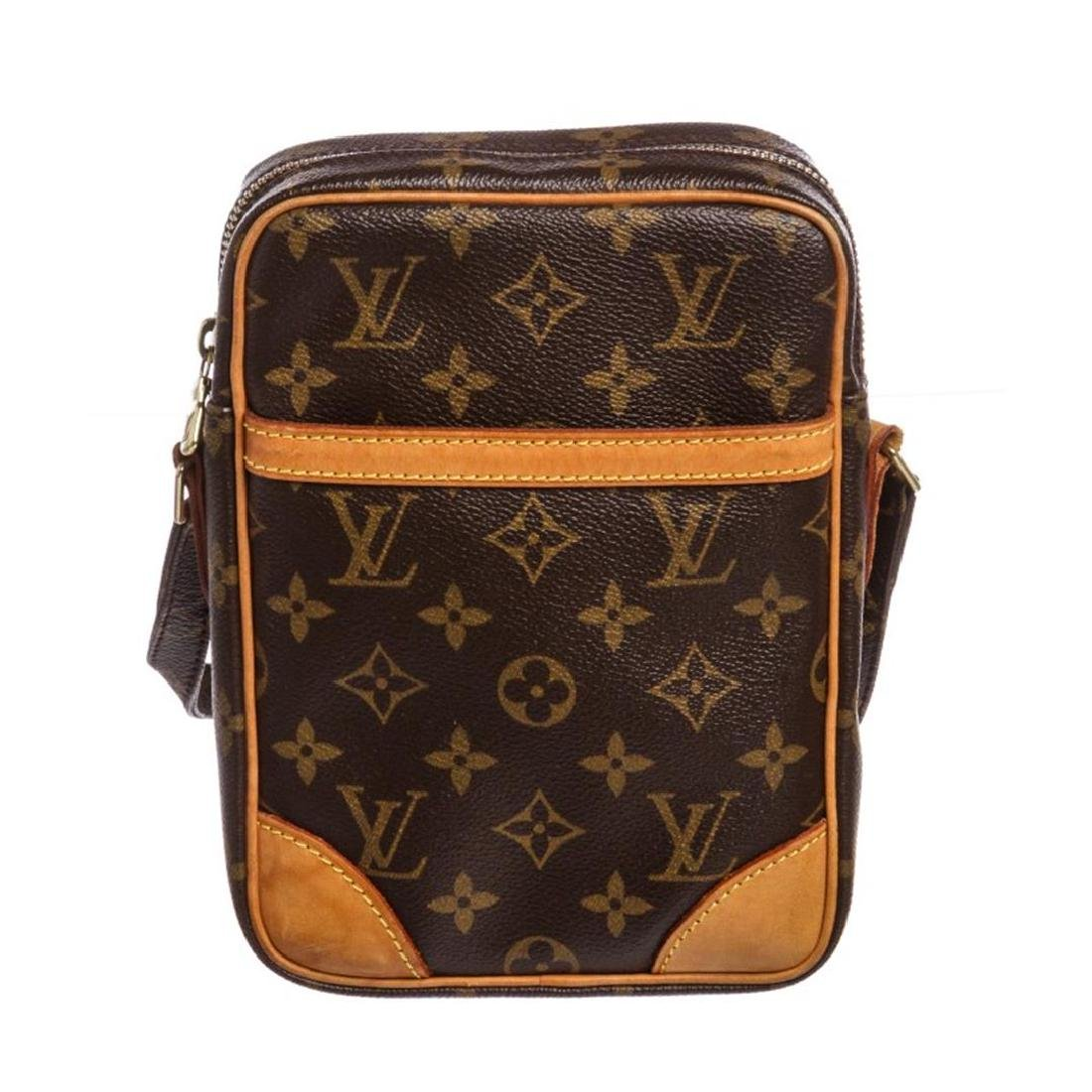 Louis Vuitton Monogram Canvas Leather Danube Crossbody