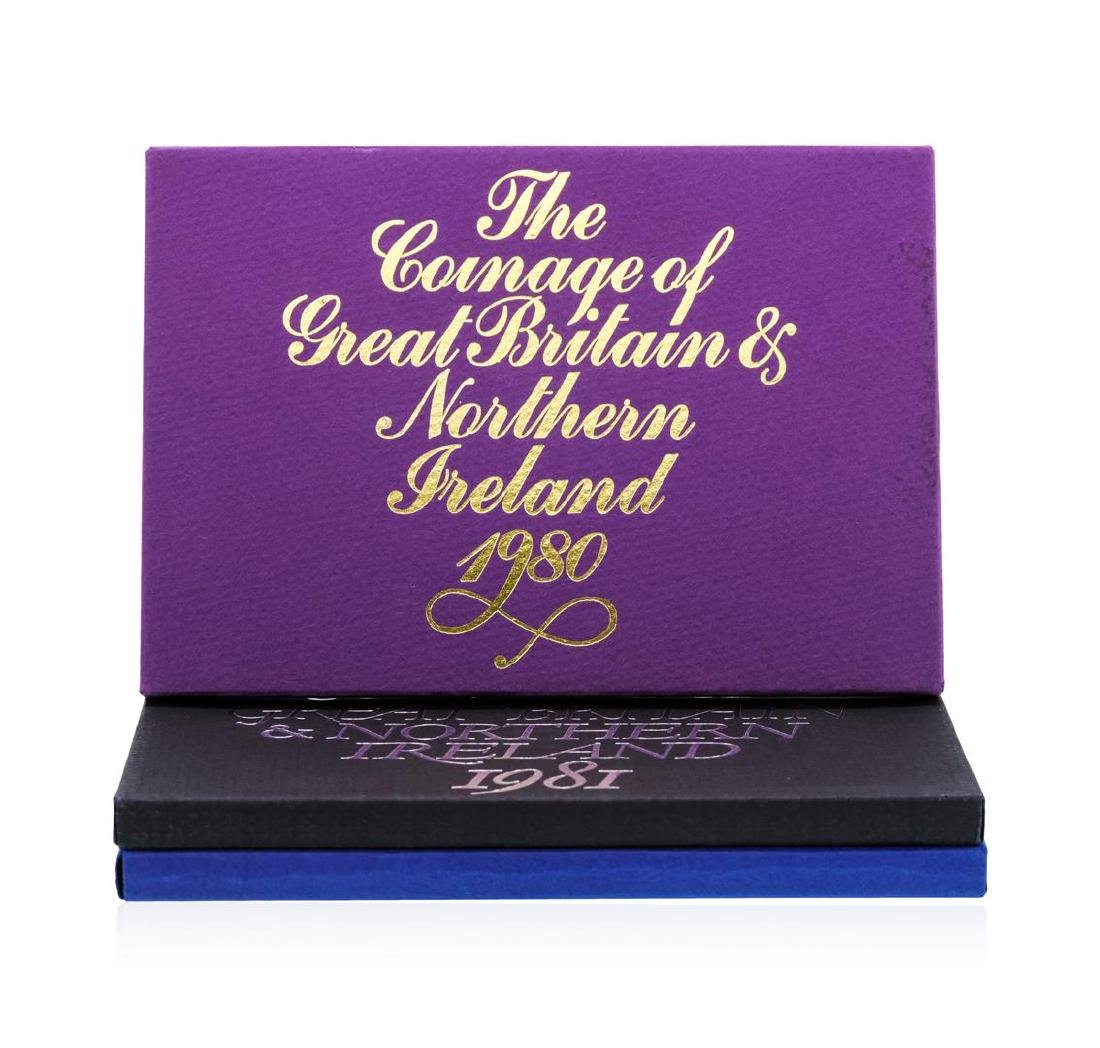 1980-1982 Coinage of Great Britain and Northern Ireland