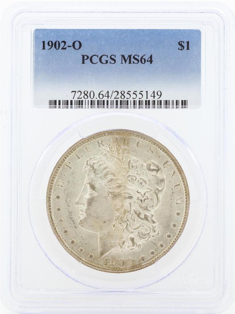 1902-O MS64 NGC Morgan Silver Dollar