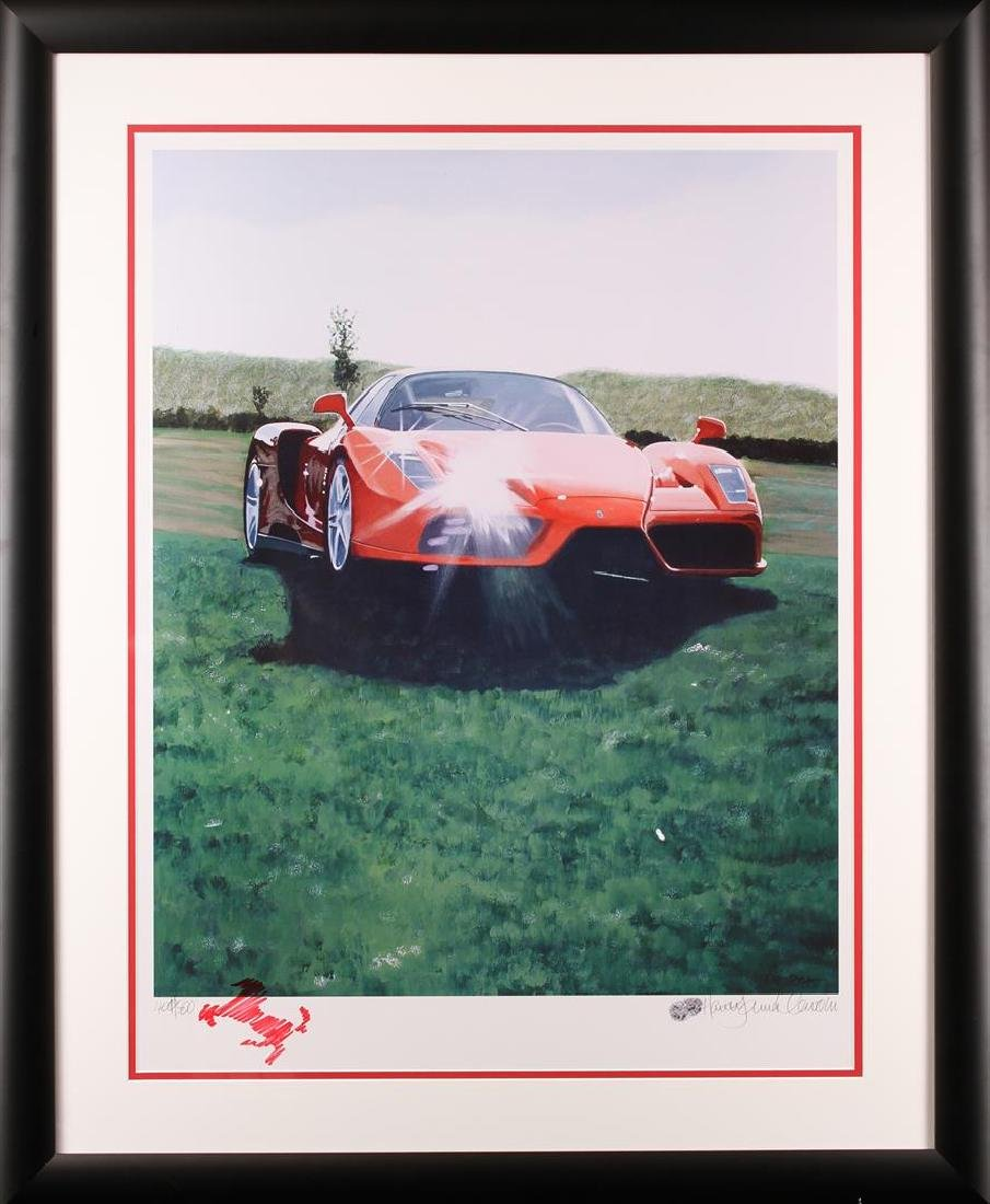Harold James Cleworth Ferrari Red Limited Edition