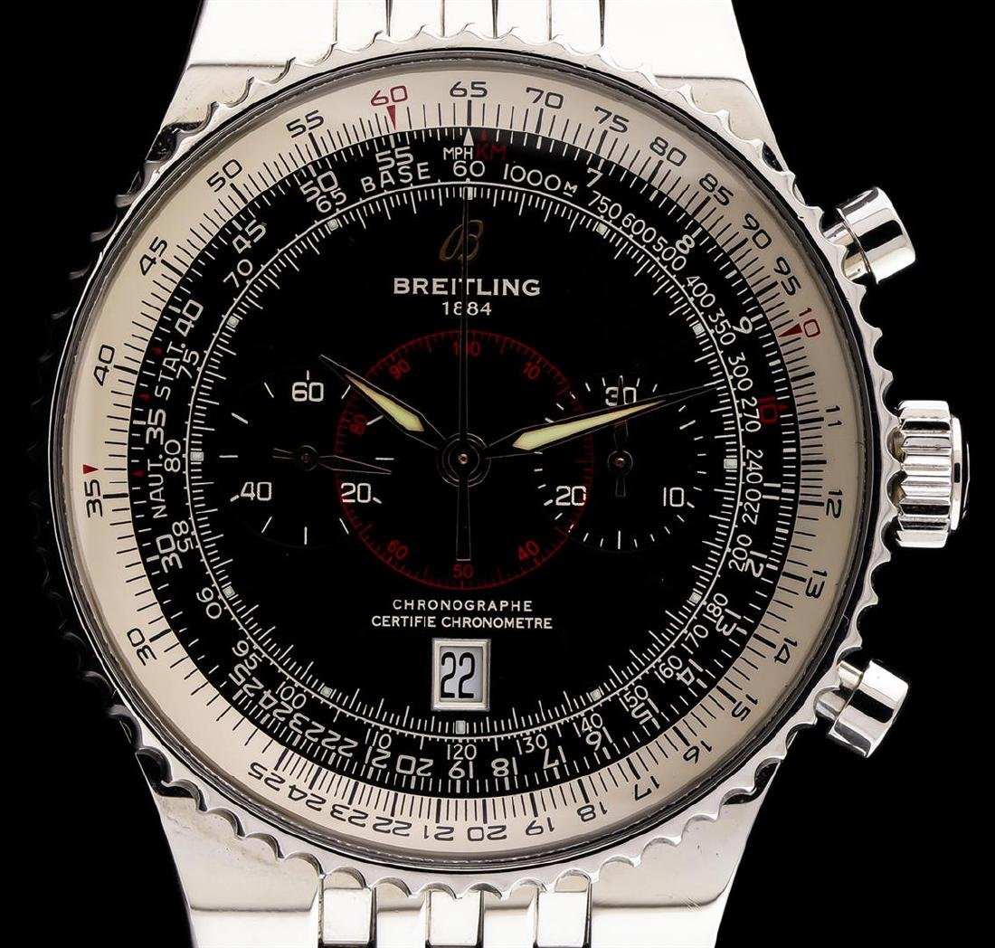 Breitling Stainless Steel Montbrilliant Legende