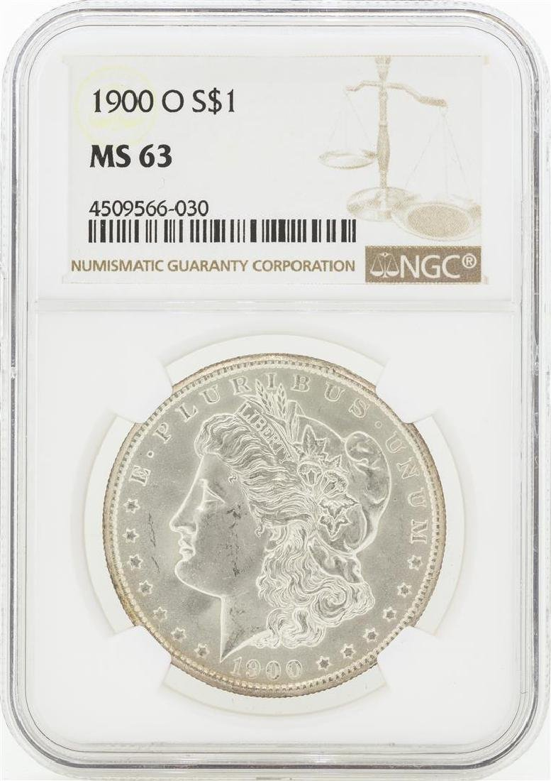 1900-O MS63 NGC Morgan Silver Dollar