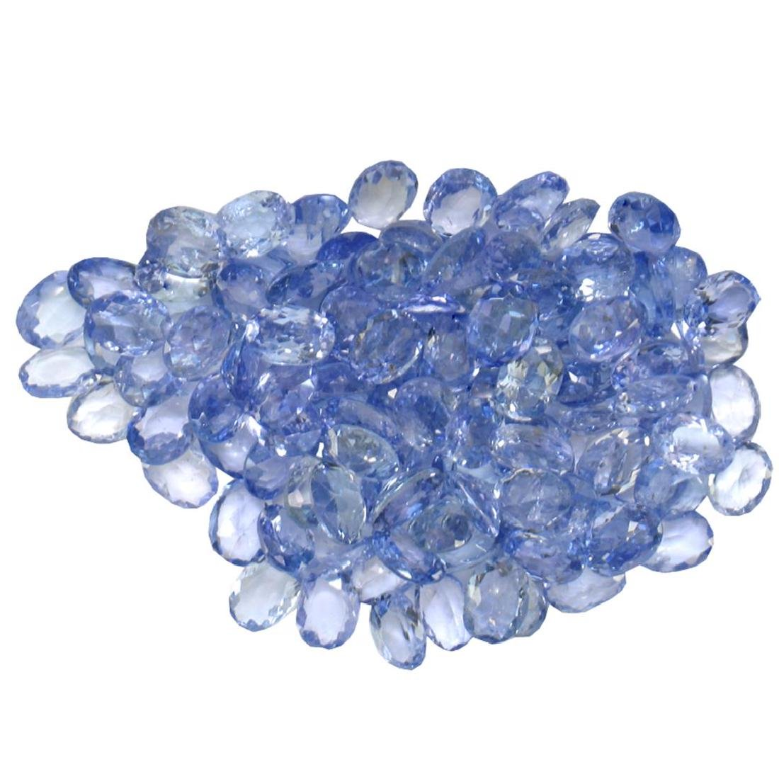 17.07 ctw Oval Mixed Tanzanite Parcel