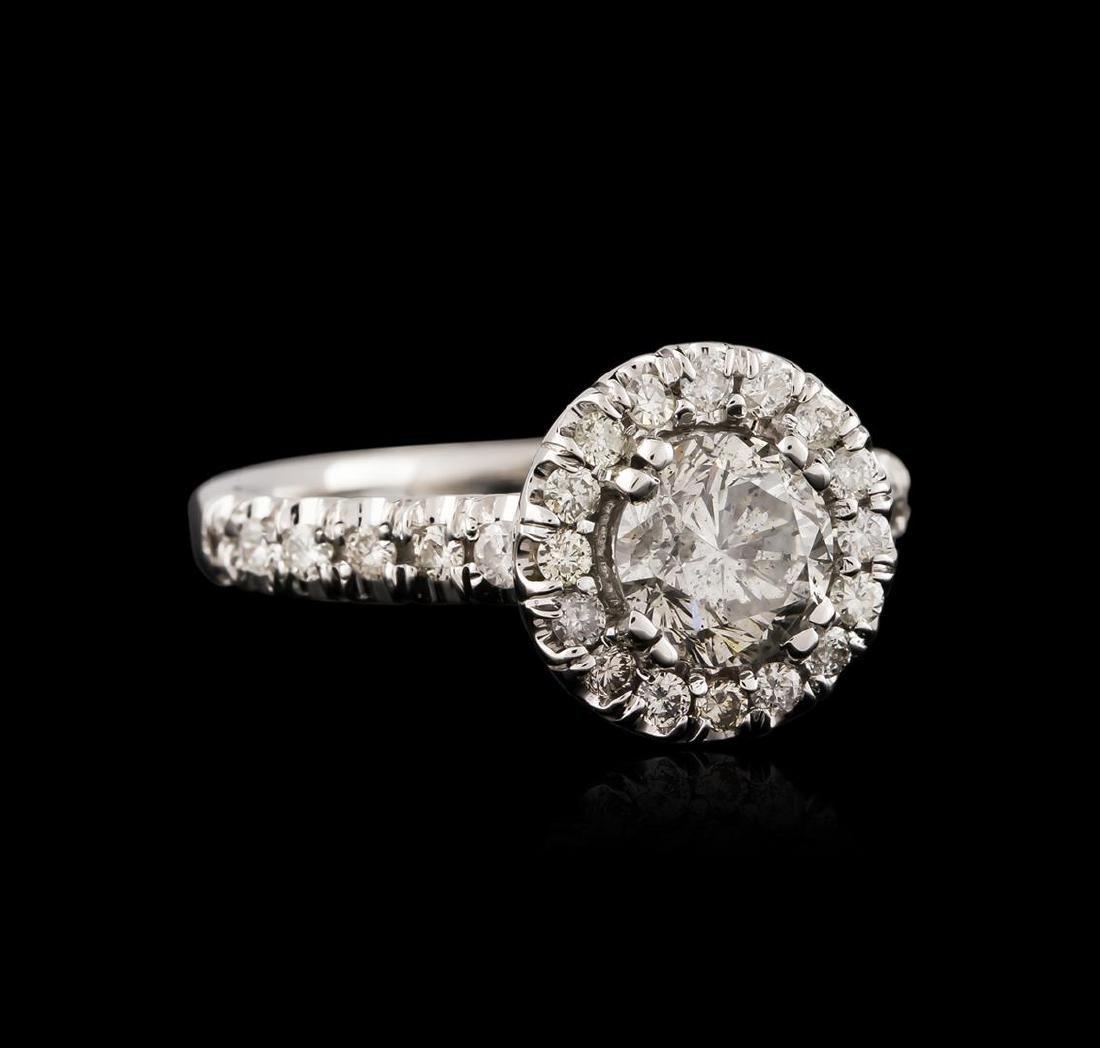 14KT White Gold 1.23 ctw Diamond Ring