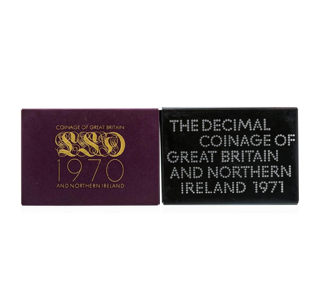 1970-1971 Coinage of Great Britain and Northern Ireland