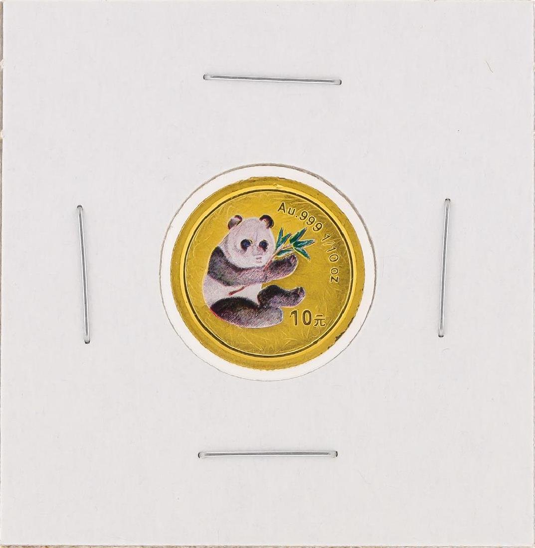 2000  1/10 oz China Panda Gold Coin