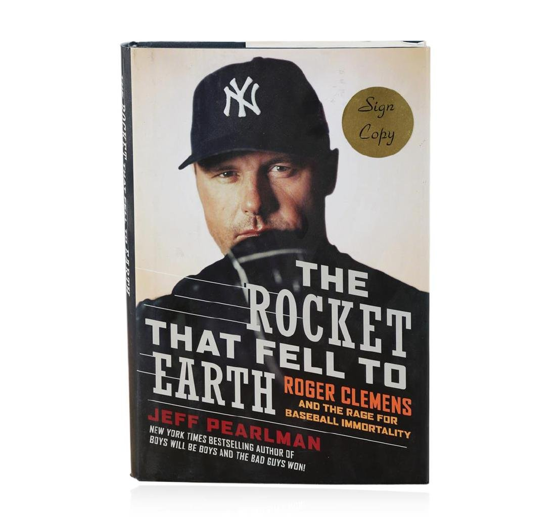 Signed Copy of The Rocket That Fell to Earth: Roger