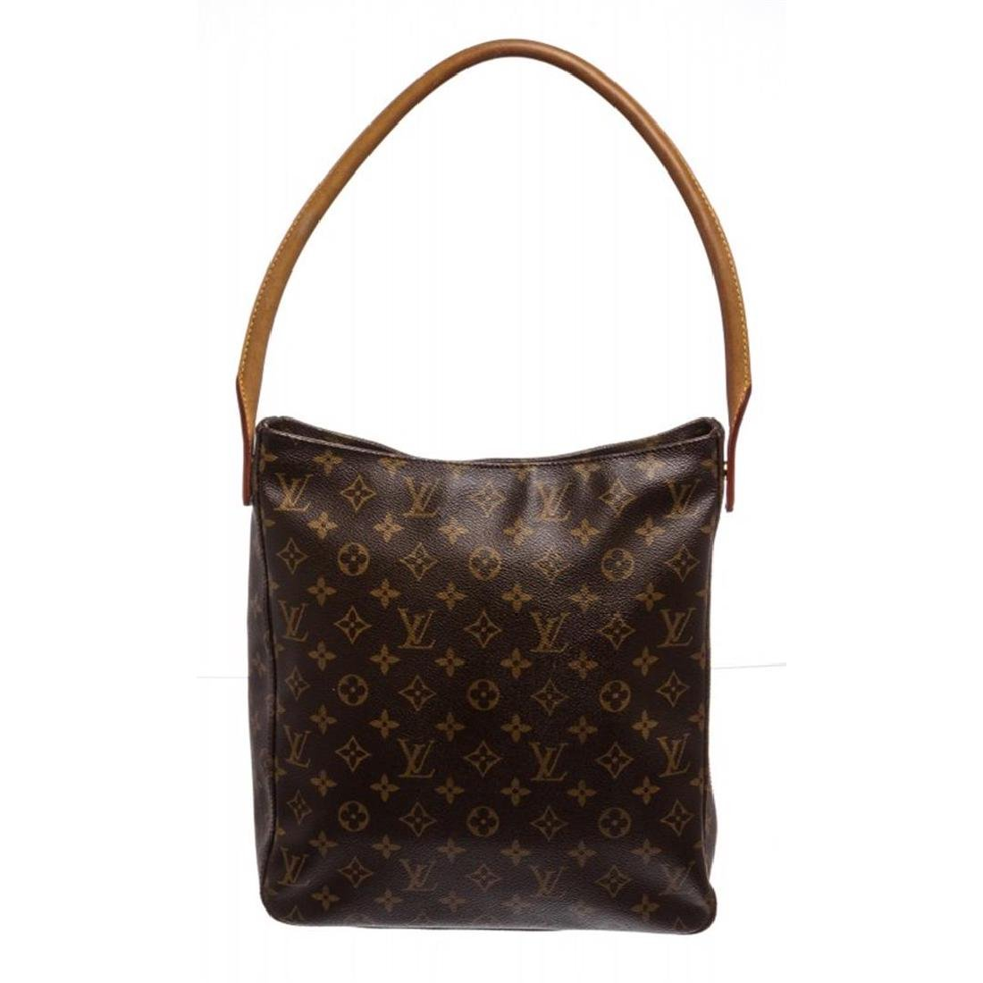 Louis Vuitton Monogram Canvas Leather Looping GM
