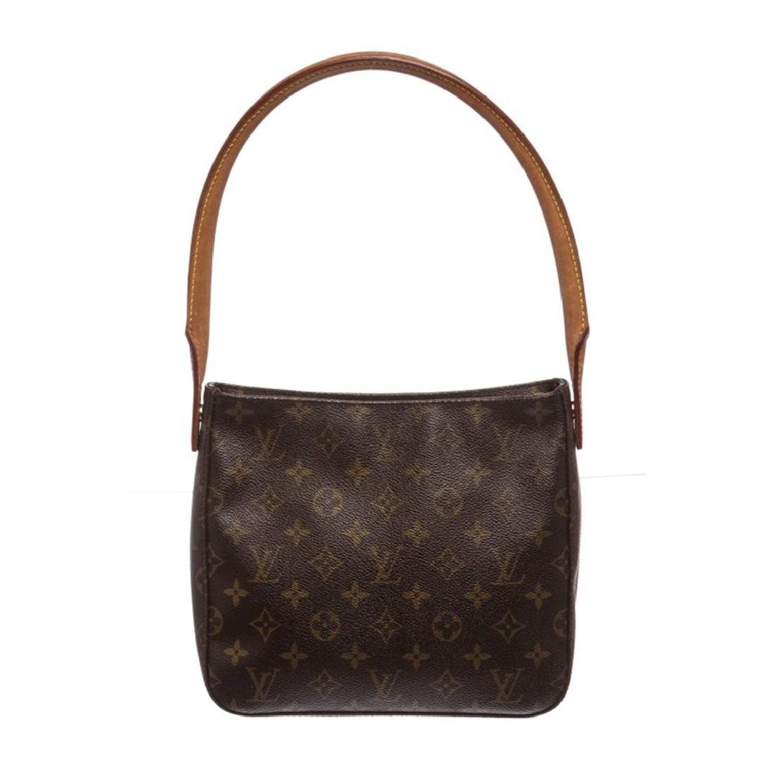 Louis Vuitton Monogram Canvas Leather Looping MM