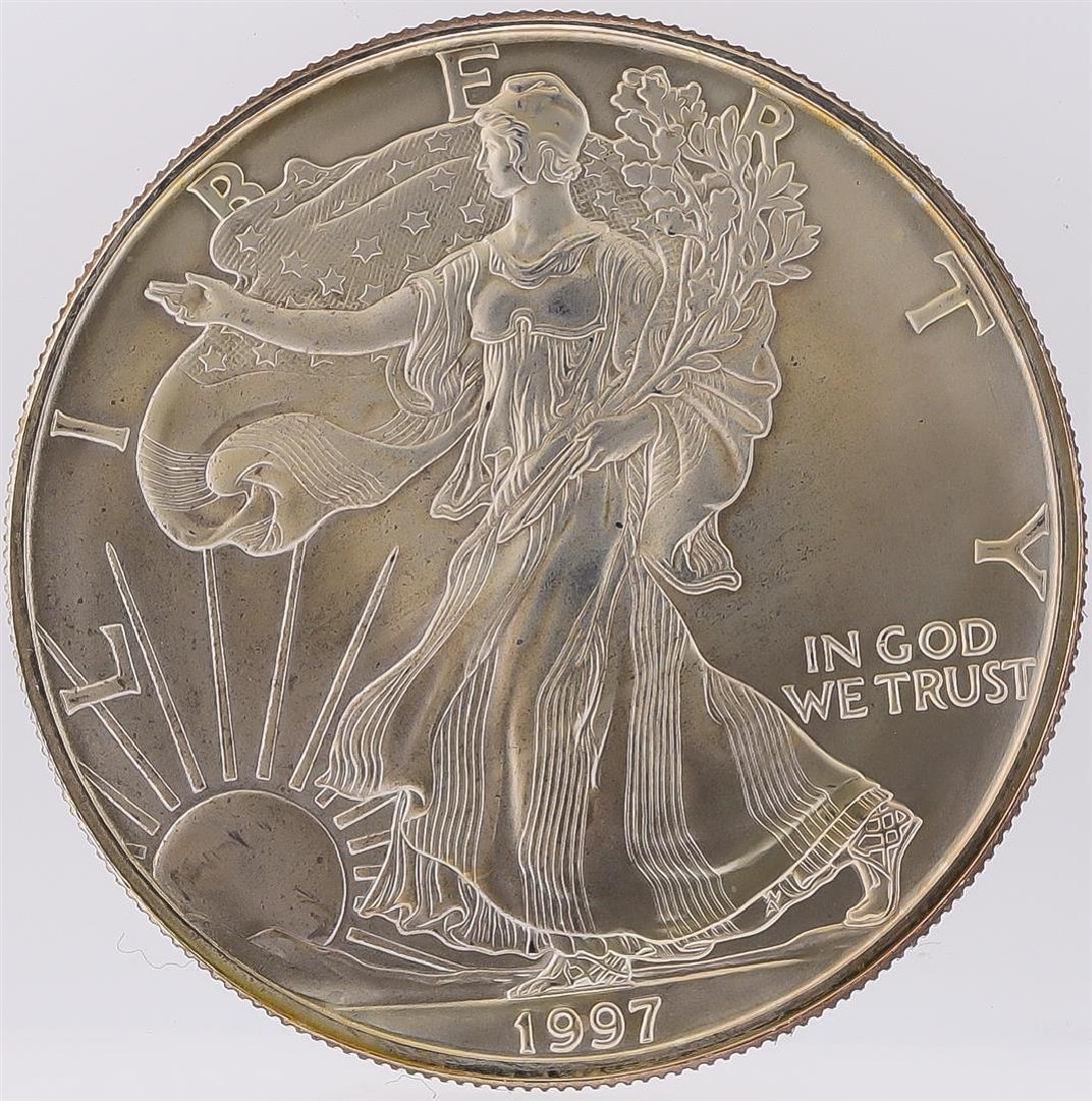 1997 American Silver Eagle Dollar Coin