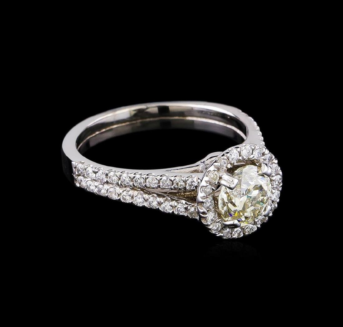 1.46 ctw Diamond Ring - 14KT White Gold