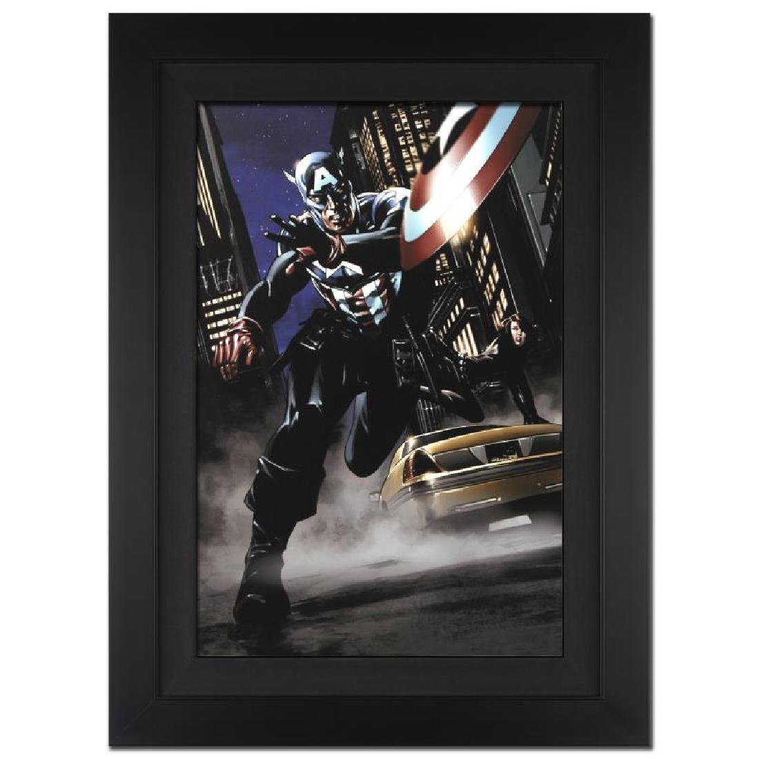 Captain America #34 by Stan Lee - Marvel Comics