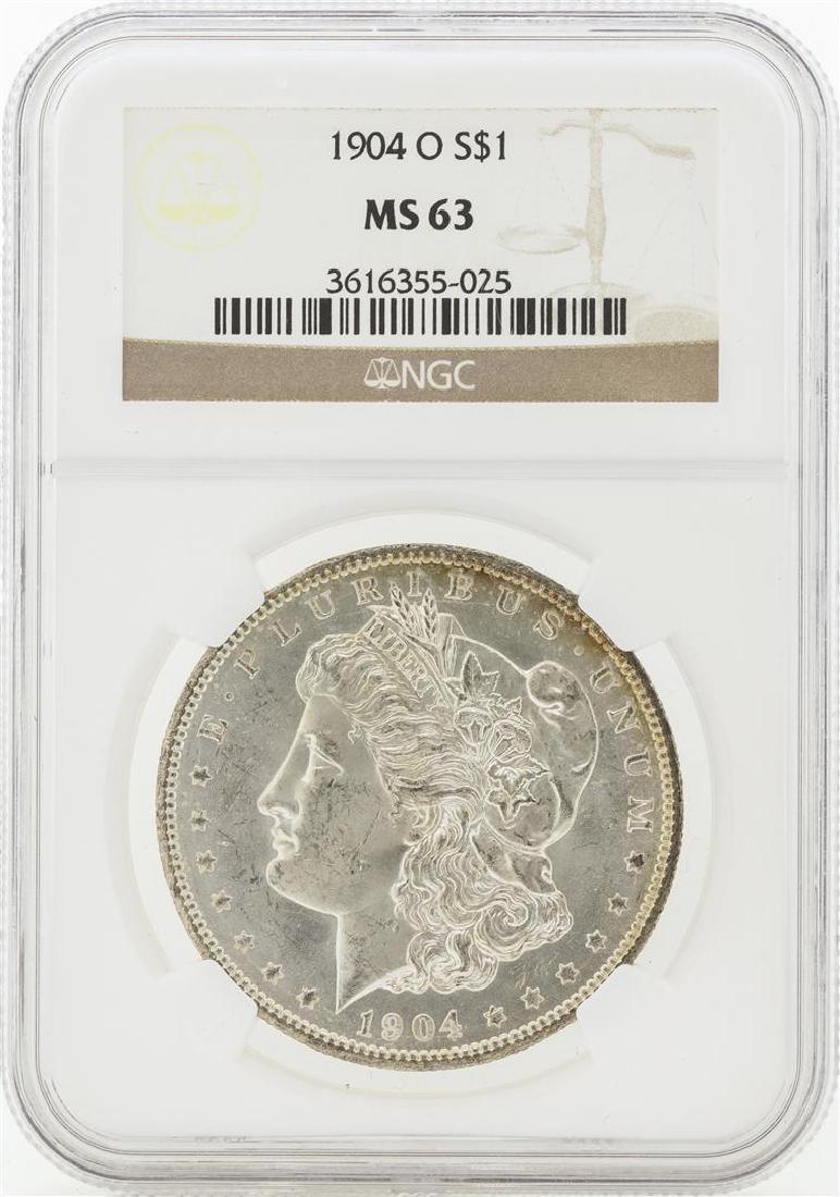 1904-O MS63 NGC Morgan Silver Dollar
