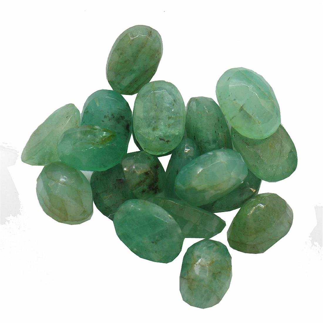 8.86 ctw Oval Mixed Emerald Parcel