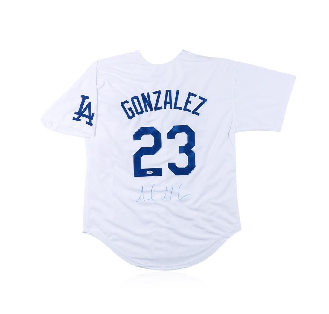 PSA Certified Adrian Gonzalez Autographed Baseball