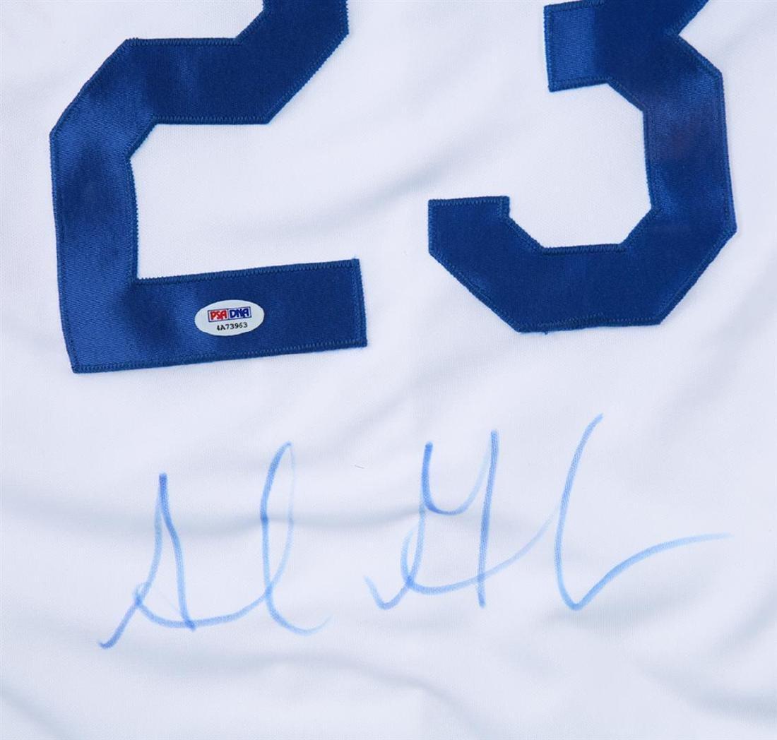 PSA Certified Adrian Gonzalez Autographed Baseball - 2