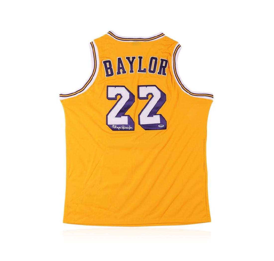 PSA Certified Elgin Baylor Autographed Basketball