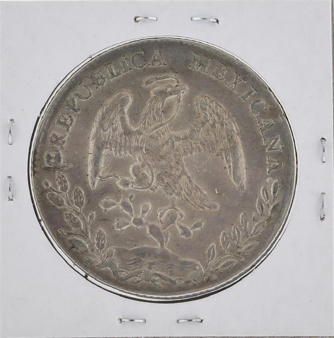 1892 MoAM Mexico 8 Reales Silver Coin KM 377.10 - 2