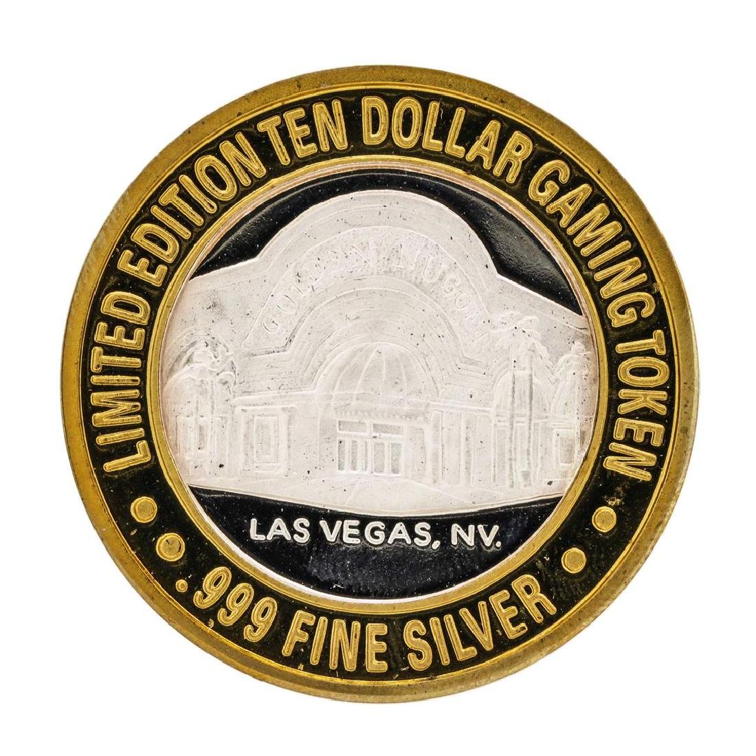 .999 Silver Golden Nugget Las Vegas $10 Casino Limited