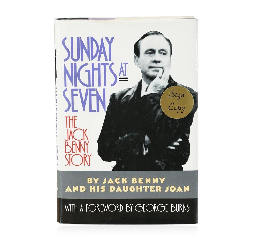 Signed Copy of Sunday Nights at Seven: The Jack Benny