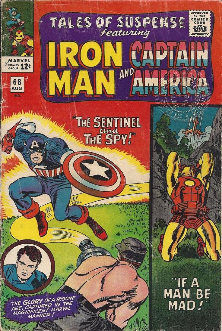 Tales of Suspense featuring Iron Man and Captain