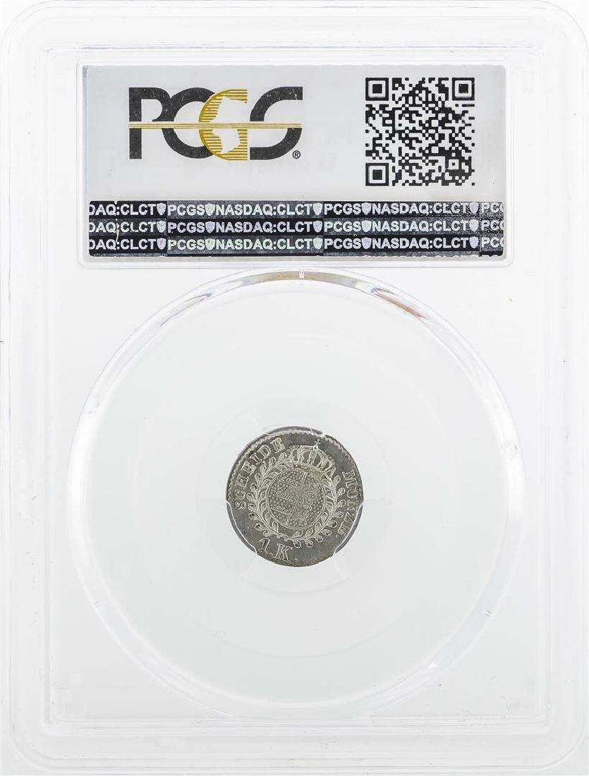 1834 Kreuzer Wurttemberg Coin PCGS MS62 - 2