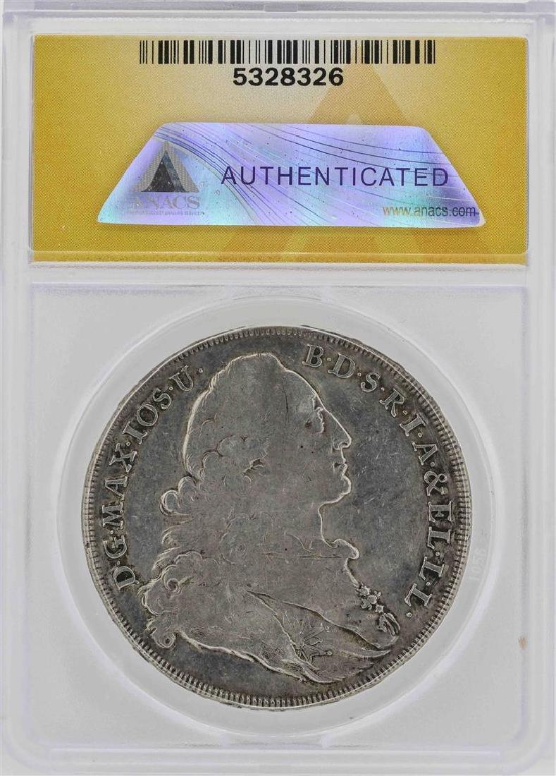 1775 Germany-Bavaria Maximillian III Coin ANACS VF30 - 2