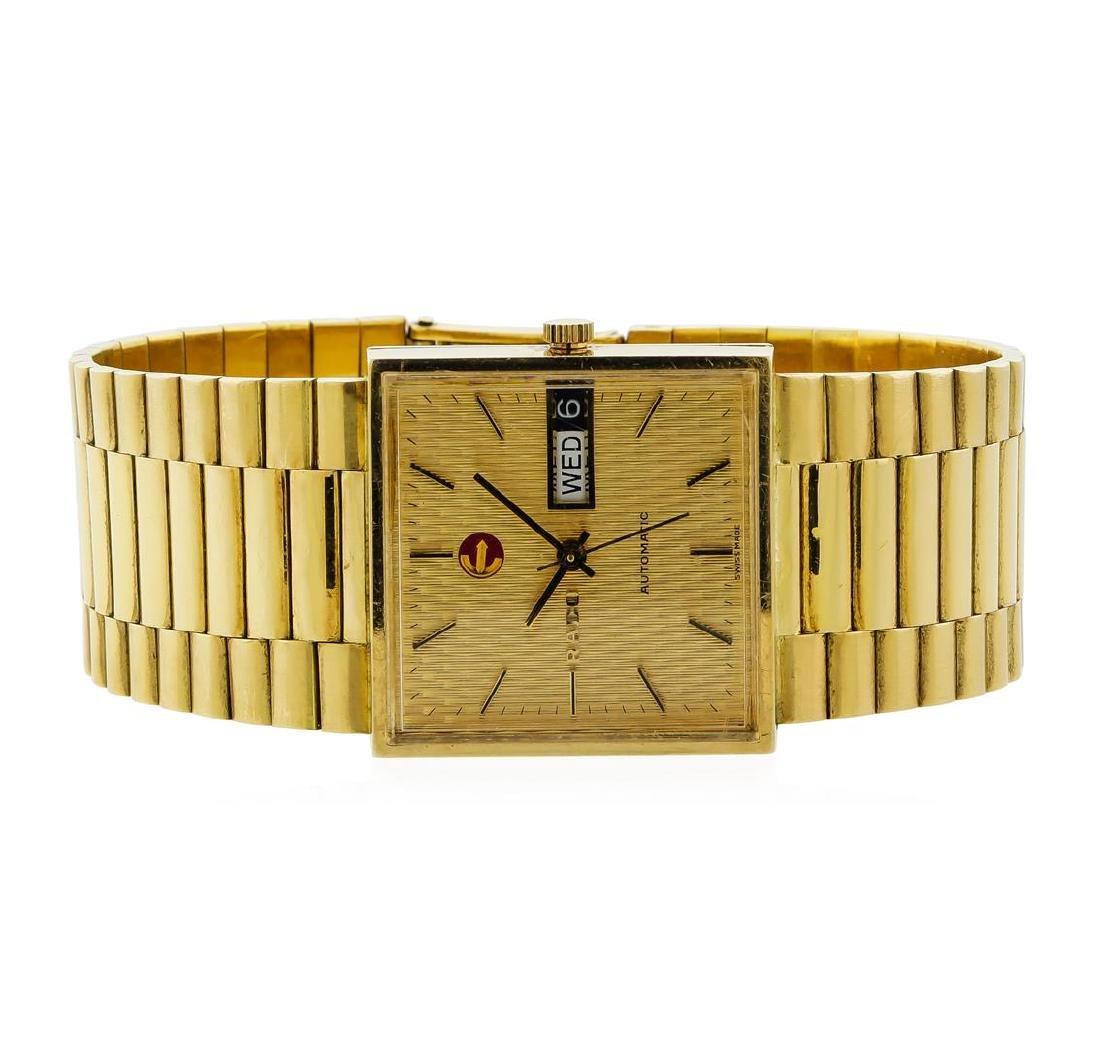 Rado Vintage Men's Wristwatch - 18KT Yellow Gold