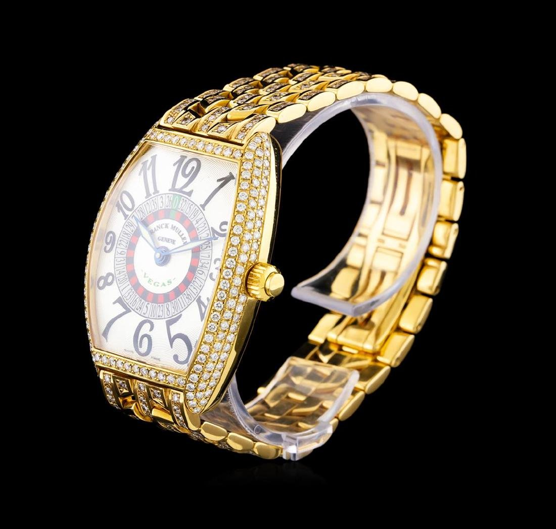 Franck Muller Vegas 18KT Yellow Gold Watch - 2