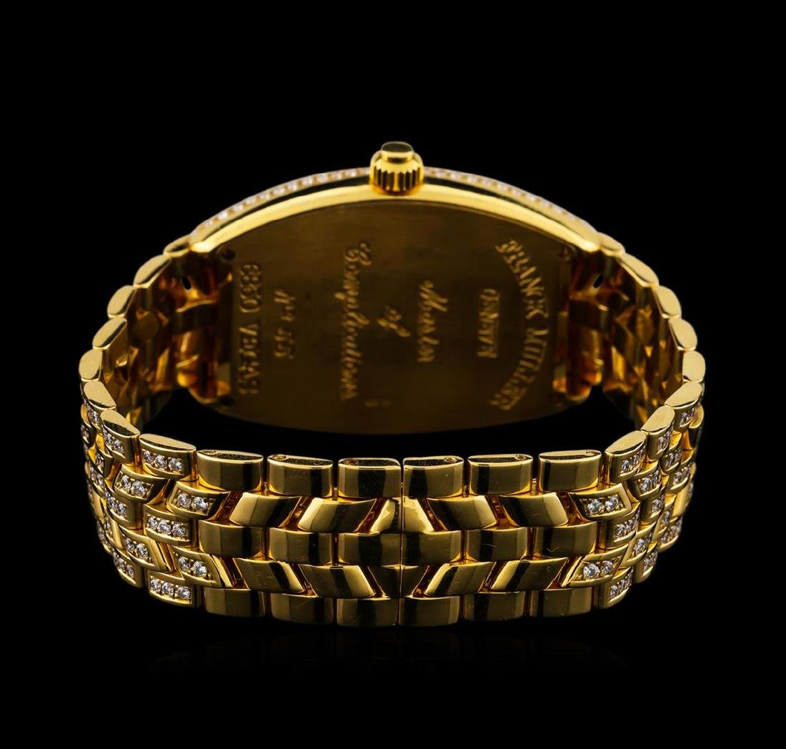 Franck Muller Vegas 18KT Yellow Gold Watch - 3