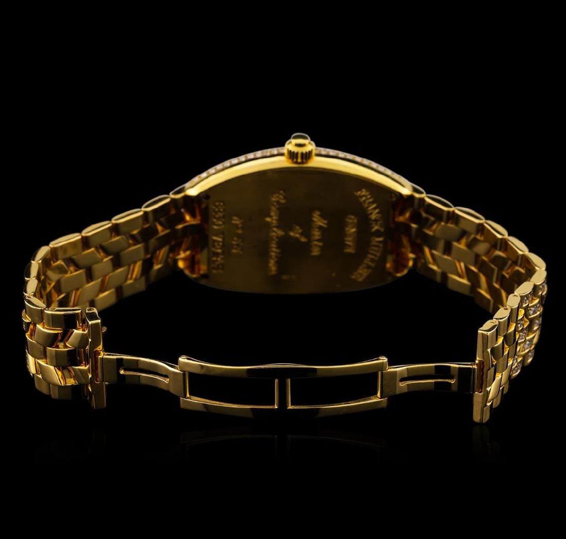 Franck Muller Vegas 18KT Yellow Gold Watch - 4