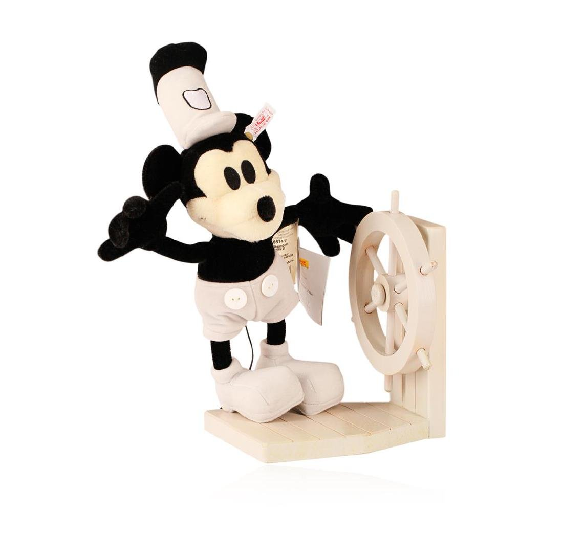 Steiff Steamboat Willie Early Mickey Mouse Made With