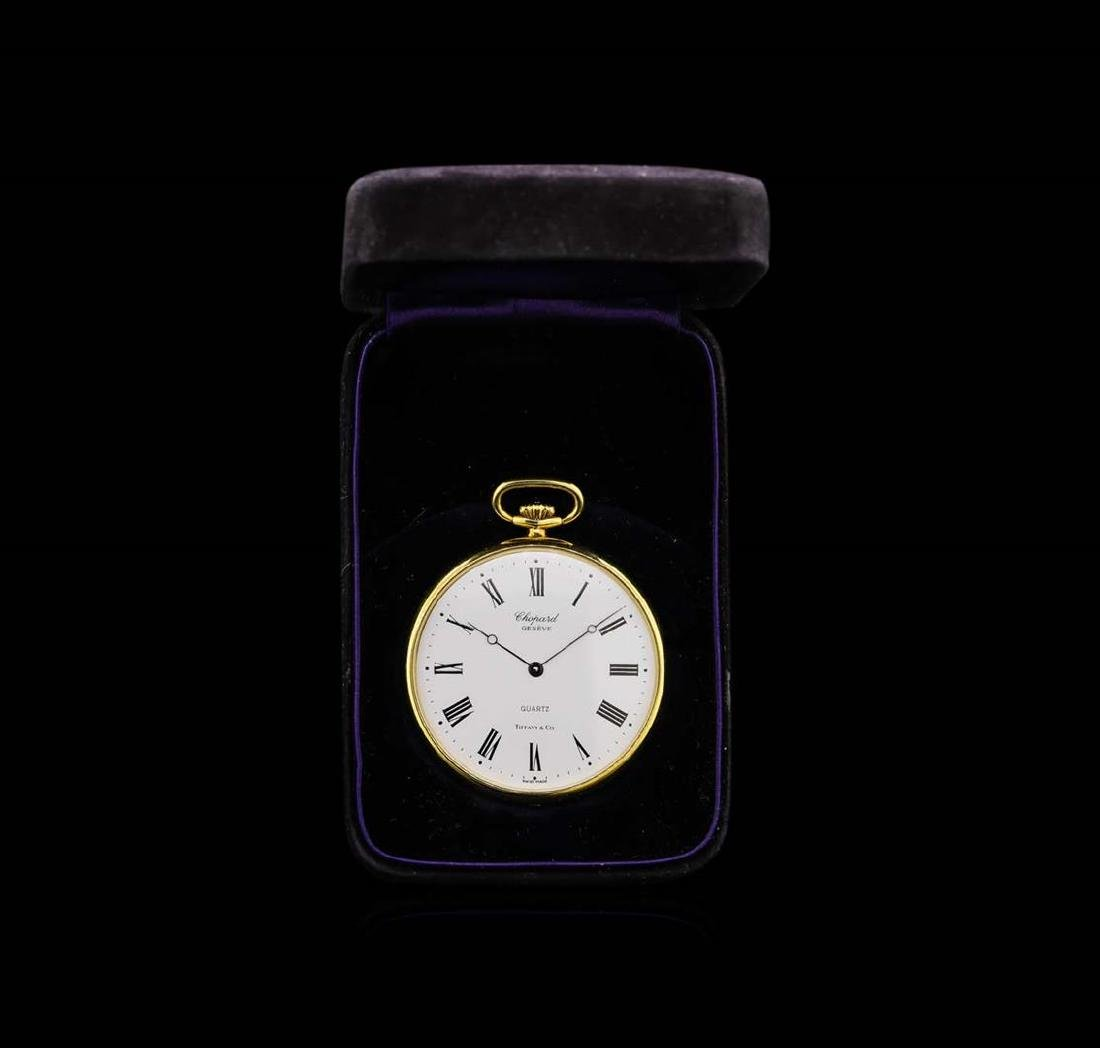 Chopard and Tiffany & Co. 18KT Yellow Gold Open Face
