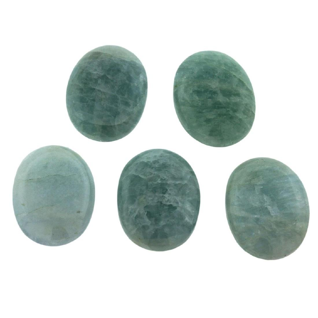 63.12 ctw Oval Cut Oval Cabochon Cut Natural Aquamarine