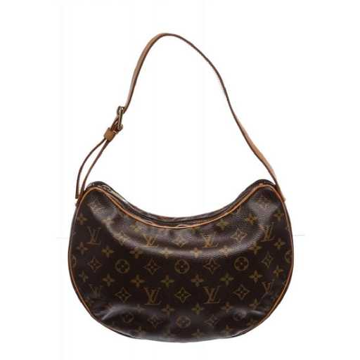5911775644d3 Louis Vuitton Monogram Canvas Leather Croissant GM Bag