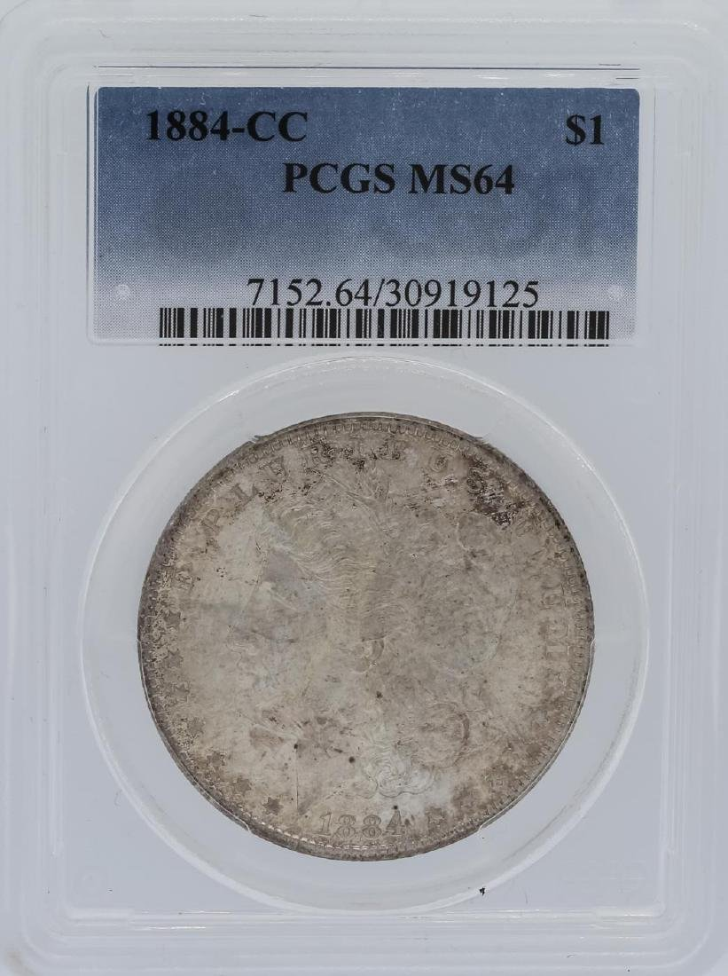 1884-CC PCGS MS64 Morgan Silver Dollar
